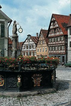bavaria - the romantic road - germany's best preserved medieval town
