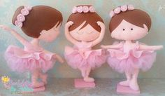 Bailarinas em feltro | Aurilene Azevedo | Flickr