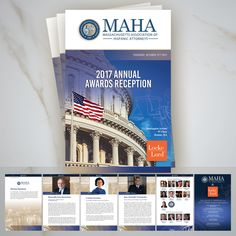 "We at Akna Media are truly honored to be working with the Massachusetts Association of Hispanic Attorneys (MAHA) in the design of their 2017 Annual Event Program Book, featuring a year of ""Latinos Empowering Our Communities for a Stronger Country."" We first collaborated with the celebrated organization in 2014, and every year since then have had the pleasure of working with the president and board."