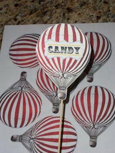 hot air balloon printables