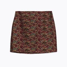 LuxeBrocade Skirts You Will Absolutely Adore - Zara  - from InStyle.com