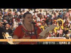 VIDEO: La joven que emocionó a todos en Morelia con el Papa Francisco