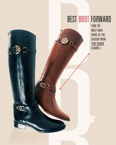 Love these new Tory Burch boots for fall!!!