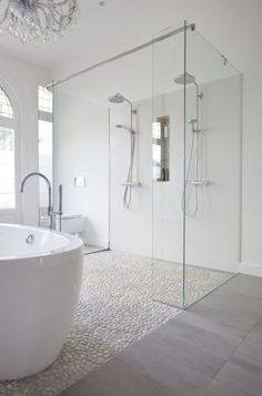 Besides bedroom, the other spot inside your house that needs more attention is the master bathroom. Designing a master bathroom can be a little bit complicated since there are many things that you should pay attention, such as the bathroom set, the fittings and also the lighting. Thus, master bathroom ideas are super required to solve your bathroom problem. #masterbathroomideasonabudget #masterbathroom #masterbathroomideas #masterbathroomdecor #rusticmasterbathroom #vintagemasterbathroom…