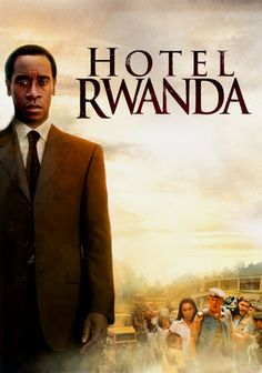 Year: 2004  Director: Terry George  While Hotel Rwanda attempts to document the country's genocide in 1994, it does so by focusing on the character of Rusesabagina (played by Don Cheadle), who gave refuge to hundreds of fleeing Tutsis. Calling in dozens of favors with his extensive network of contacts, he was able to hold the Hutu extremists (the Interahamwe militia) at bay, until the Tutsi rebels drove the Hutu from power.