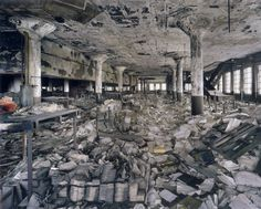 Detroit's Main Post Office, built by Albert Kahn, was used as a repository for...