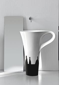 Pausa caffè: è il lavabo tazzina Cup di Art Ceram