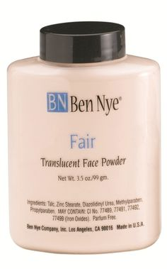 If you're a fan of loose powder I highlyyyyyy highly recommend Ben Nye professional face powders. I buy this in the 8 oz jar and it's only 11 bucks. I mix this with the Ben Nye super white to create a custom shade for my extremely fair skin. Thin Eyeliner, Eyeliner Brush, All Things Beauty, Beauty Make Up, Jennifer Aniston Cake, High End Makeup Brands, Chanel Rouge Coco Shine, Ben Nye