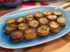 Get Melting Potatoes Recipe from Food Network The Kitchen Katie Lee Healthy Recipes, Side Dish Recipes, Vegetable Recipes, Recipes Dinner, The Kitchen Food Network, Kitchen Recipes, Cooking Recipes, Cooking Courses, Kitchen Ideas