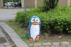 Penguin in Munchen by Pao