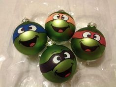 Teenage Mutant Ninja Turtles ornaments
