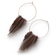 Fab.com | Lingala Earrings Copper