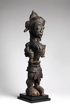 Figure of a leopard chief  Date: 19th–early 20th century Geography: Democratic Republic of the Congo, Western Kasai Culture: Luluwa peoples
