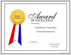 certificate award template certificates officecom formal award certificate templates award certificates pdf award of excellence pdf certificate