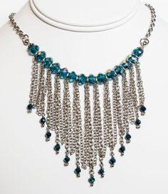 Statement Necklace / stainless steel necklace / by Azurika on Etsy, $99.00