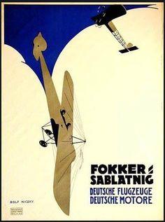 ? Art Nouveau Poster, Art Deco Posters, Vintage Posters, Poster Ads, Advertising Poster, Aviation Decor, Jugendstil Design, Airplane Art, Vintage Graphic Design