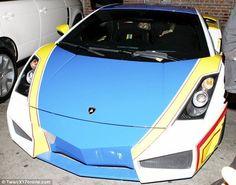 nice Chris Brown's Lamborghini Gallardo - A Real Life Hot Wheels Car?!...  Luxury Car Lifestyle Check more at http://autoboard.pro/2017/2017/03/07/chris-browns-lamborghini-gallardo-a-real-life-hot-wheels-car-luxury-car-lifestyle/