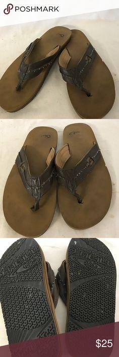 Quicksilver men's slipper size 8 Looks good! quicksilver Shoes Sandals & Flip-Flops