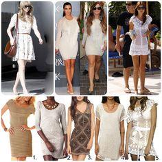 Taylor Swift in vintage, Kim Kardashian and Demi Lovato in Isabel Marant, Miranda Kerr in Anna Kosturova