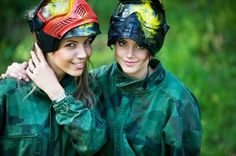 Go paintballing...because being a girl doesn't mean you can't shoot stuff. . .