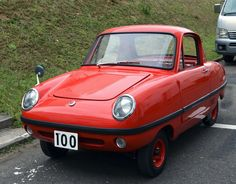 Datsun Baby 1965.Classic Micro Car Art&Design @classic_car_art #ClassicCarArtDesign