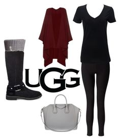 """""""The New Classics With UGG: Contest Entry"""" by harper-smith on Polyvore featuring UGG Australia, Miss Selfridge, The Row, UGG, Givenchy and ugg"""