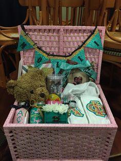 Big little sorority basket alpha phi