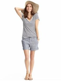 Love the Shorts - Women's Apparel: outfits we love | Banana Republic