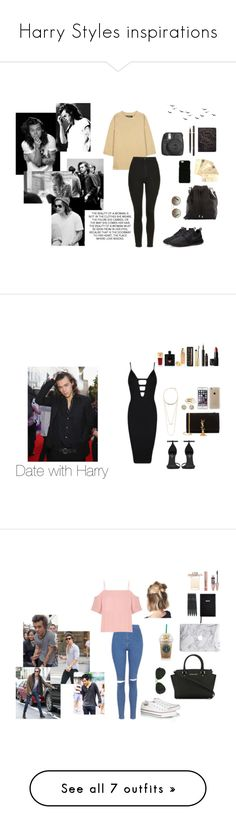 """Harry Styles inspirations"" by luvzlife on Polyvore featuring moda, adidas Originals, Topshop, NIKE, Proenza Schouler, Prada, Dolce&Gabbana, Tom Ford, Yves Saint Laurent i Posh Girl"