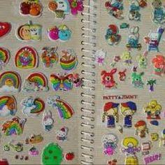 Puffy stickers!!