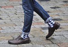 Detalle de los calcetines