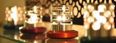 OCTO ORBIS - C'est en valorisant son savoir faire du tournage fraisage pour amener un peu de rêve d'espace et d'étoiles dans son foyer familial que Stéphane en laissant libre cours à son imaginaire a donné vie à des luminaires et des objets design