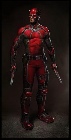 Daredevil redesign - Lewis Jones