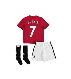 Manchester United Alexis Sanchez 7 Hemmaställ Barn 17-18 Kortärmad Manchester United, Pajamas, Pajama Pants, Sweatpants, The Unit, Fashion, Velvet, Man United, Moda