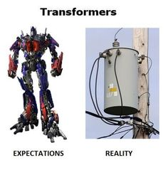Transformers: Expectations X Reality