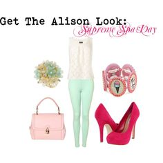 Pretty Little Liars' Alison DiLaurentis Supreme Spa Day outfit