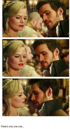 """Killian teaching Emma to Waltz... """"There's only one rule, pick a dance partner that knows what he's doing."""""""