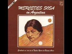 Mercedes Sosa en Argentina - Disco completo full album