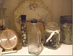 .i collect antique glassware.... its an addiction