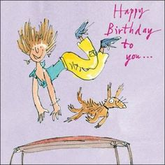 Quentin Blake. - Happy Birthday Greetings  IMAGES, GIF, ANIMATED GIF, WALLPAPER, STICKER FOR WHATSAPP & FACEBOOK