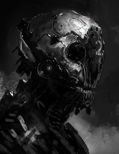 Robots and stuff (but mostly robots), kokutouroll: Cyborg by jameschg - James Cheong -...
