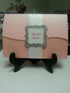 Handmade Sweet 16/Quinceanera Invitation by MarysInvitationsNWA
