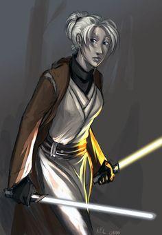 Star Wars:KotOR2 - Exile by aora.deviantart.com on @deviantART