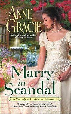 "Marry In Scandal — cover Book 2 in the ""Convenient Marriage"" series"
