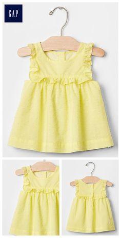 Kids Dress Wear, Dresses Kids Girl, Kids Outfits Girls, Girls Fashion Clothes, Baby Girl Fashion, Frocks For Girls, Girl Outfits, Moda Kids, Fancy Dress Design