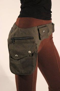 Our most popular belt for the active and on the go person. Great to sling under the arm or around th Sacs Tote Bags, Festival Outfits, Festival Clothing, Hip Bag, Purses And Bags, Belt, Sewing, My Style, Womens Fashion