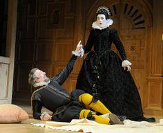 Stephen Fry and Mark Rylance Twelfth Night The Globe - Mark Rylance was brilliant.