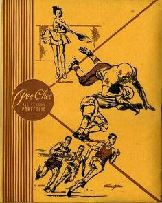 Pee-Chee folders.