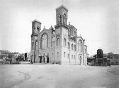 1874, Αθήνα..στον Μητροπολιτικό Ναό φωτογραφία Pascal Sebah
