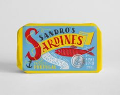 Featured Student Project: Sardines packaging by Maria Mordvintseva.